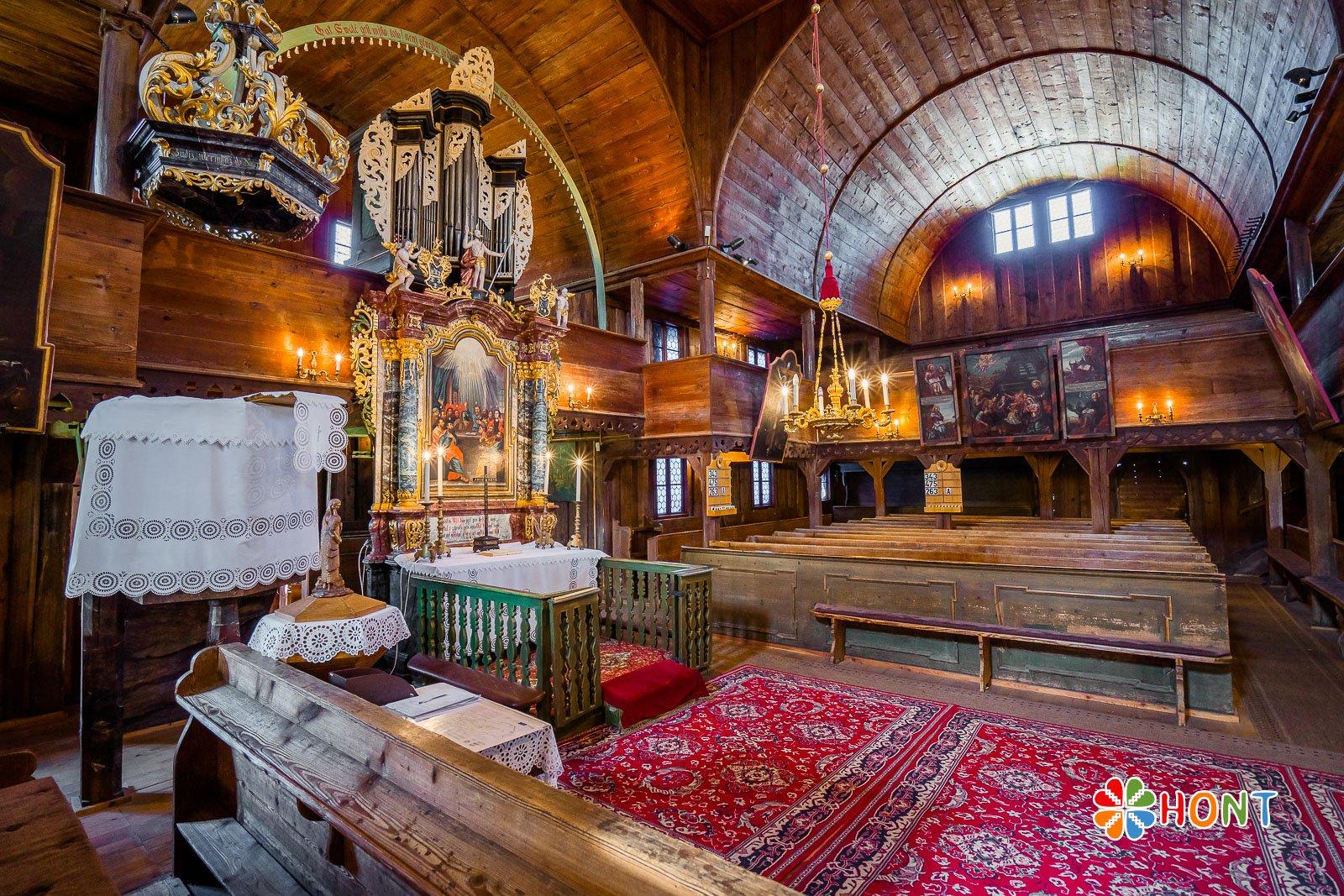 Evanjelický kostol v Hronseku