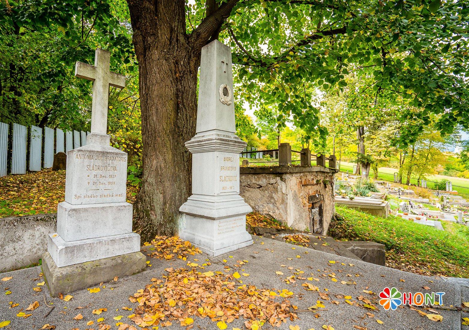Hrob Andreja Sládkoviča v Banskej Bystrici