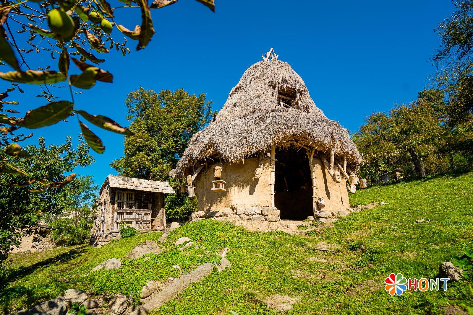 Keltské obydlie