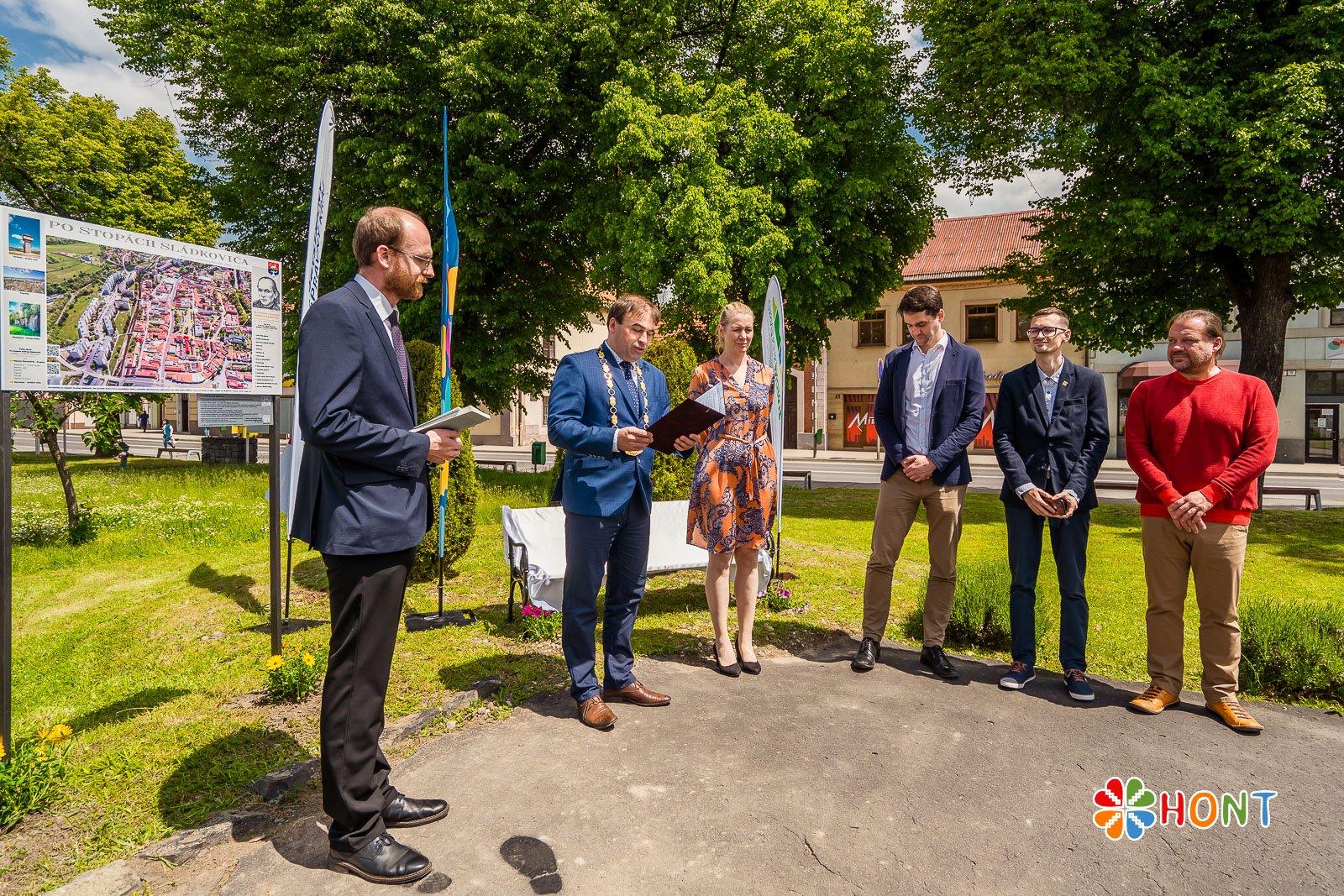 Predstavitelia mesta Krupina a zástupcovia BBSK